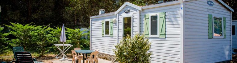 Camping île de Ré mobil-home 2 chambres