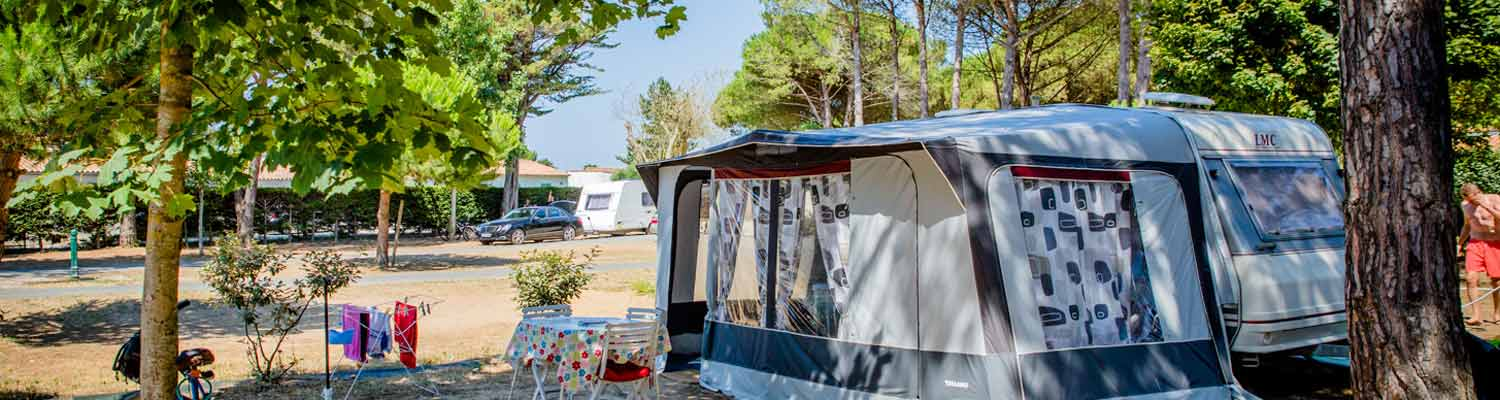 Camping pitches île de Ré