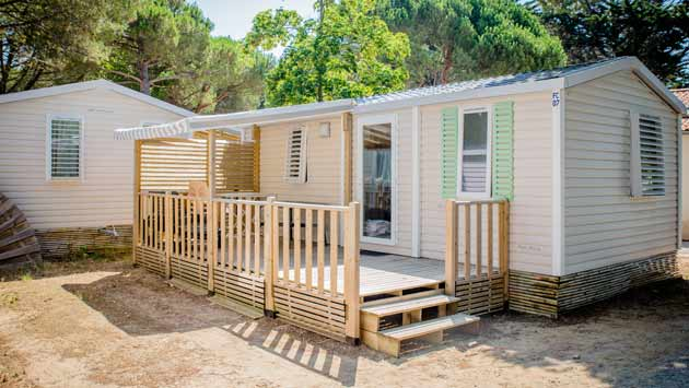 Mobile home rental on the ile-de-ré