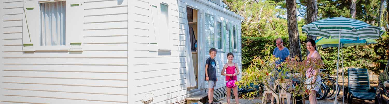 Louer mobil-home 3 chambres île de Ré