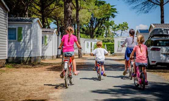 Fahrradverleih Holzstrand in ré