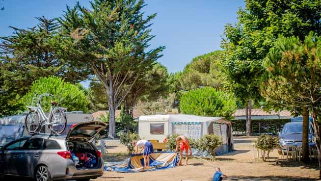 camping Ile de Ré emplacement pas cher
