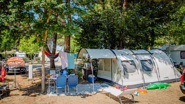 Campingplatz Ile de Ré tente