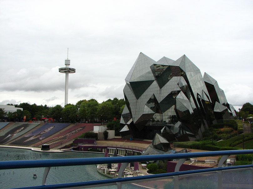 architecture Futuroscope