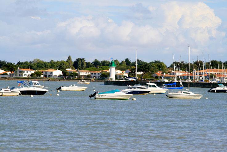 bateaux la flotte camping île Ré