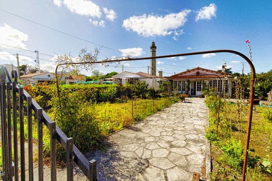 Tuin van Saint Clément bij camping île Ré