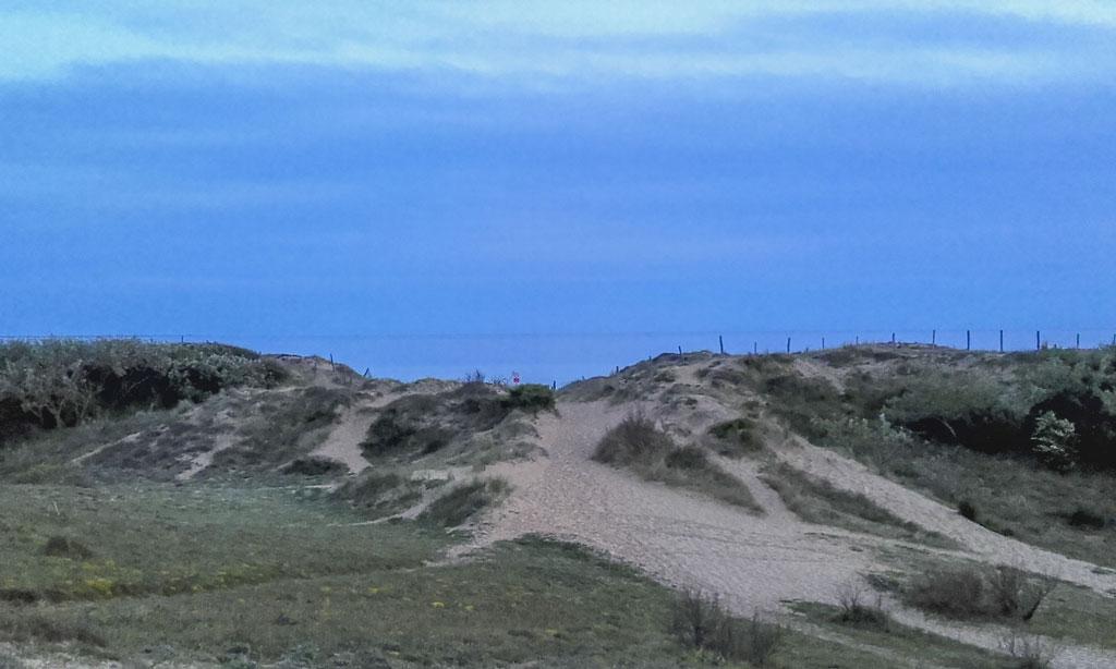 paysage près camping île Ré