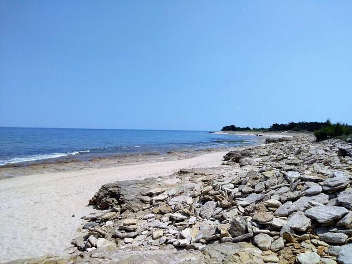 strand porte en Ré camping