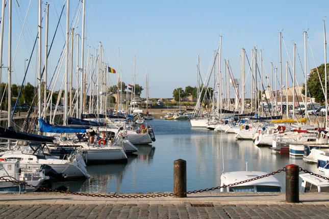 port St Martin près île Martin
