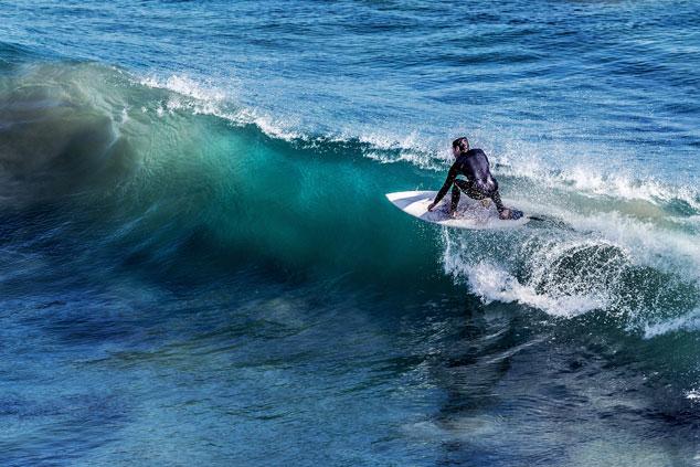surfen camping île Ré
