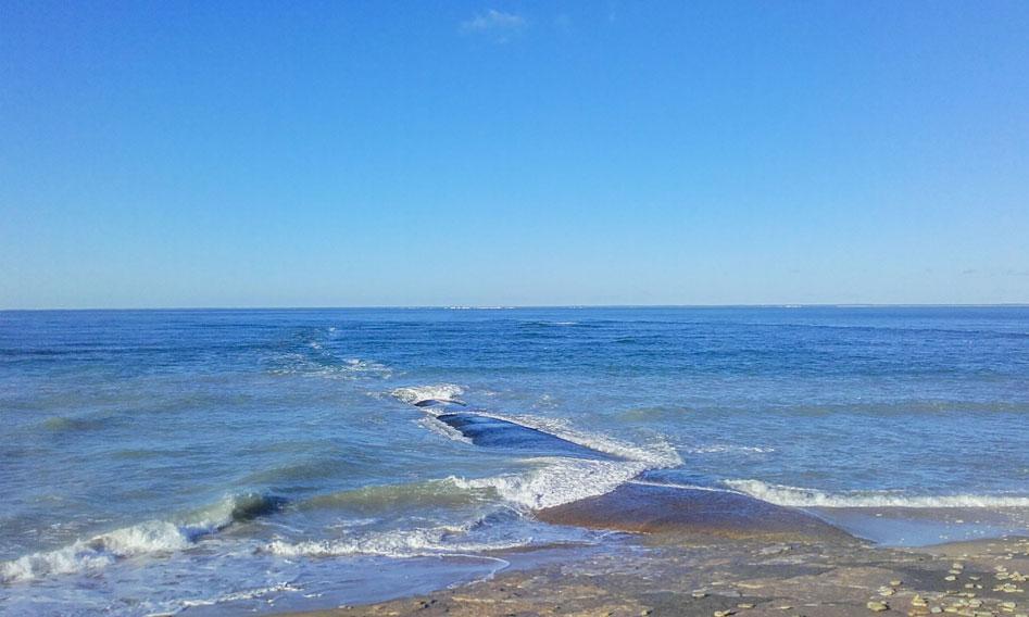 vue sur mer près camping île Ré