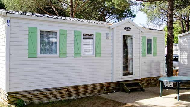 rental mobile home 3 bedrooms ile de re