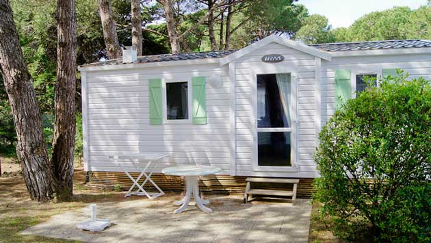 rent a family mobile home comfort ile de re
