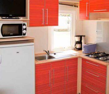 mobil home 3 chambre cuisine ile de re