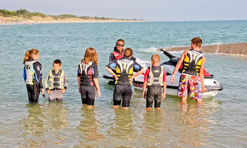 activités pour enfants camping île de Ré