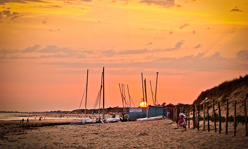 Visit the beaches of the Ile de Ré