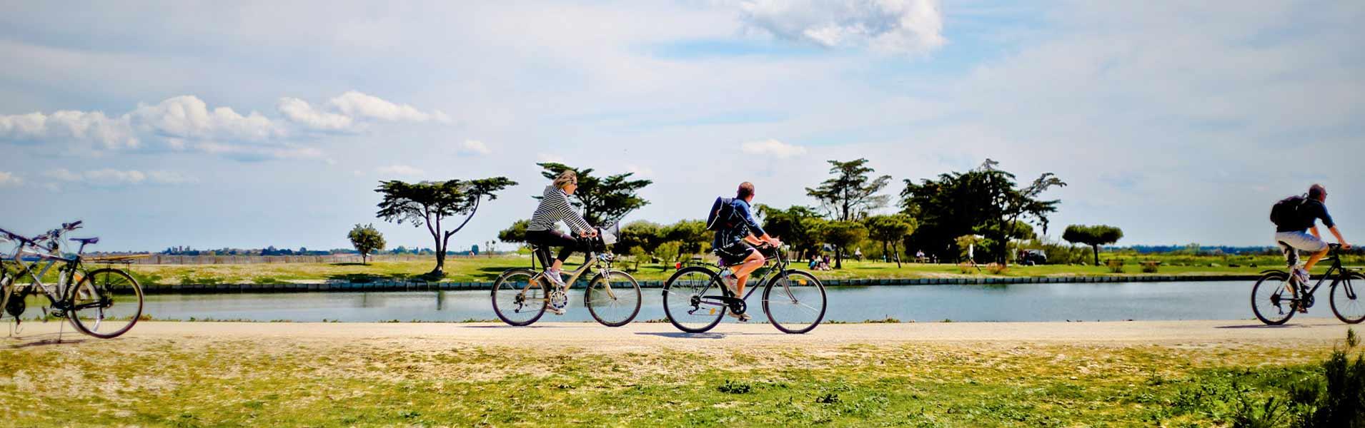 Fahrradverleih auf der île de ré
